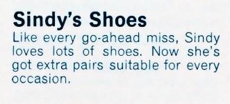 Sindy's Shoes 12S68 1966